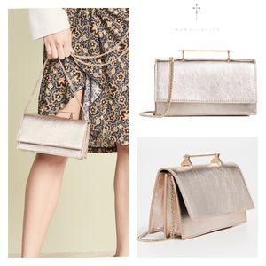 M2MALLETIER // Alexia shoulder bag - metallic gold